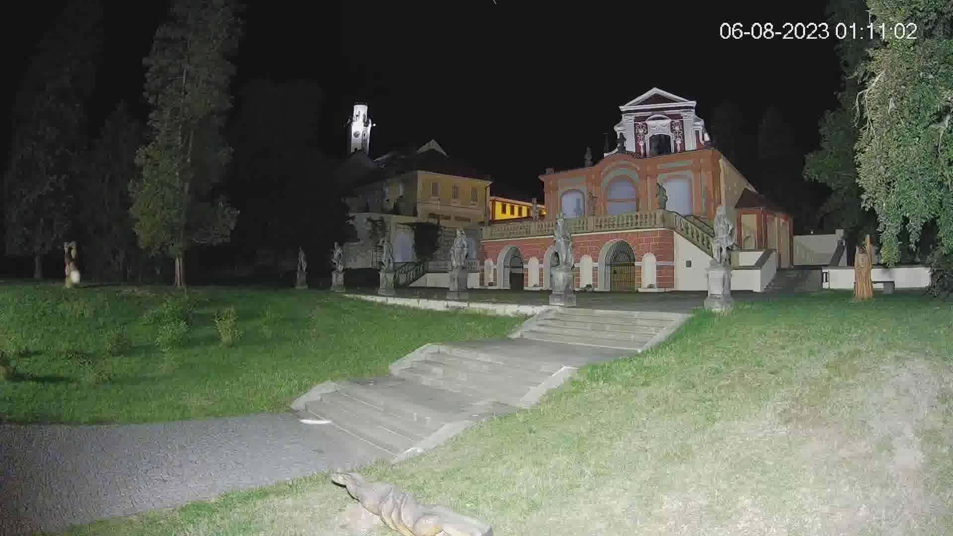 Webkamera - Klášterec nad Ohří