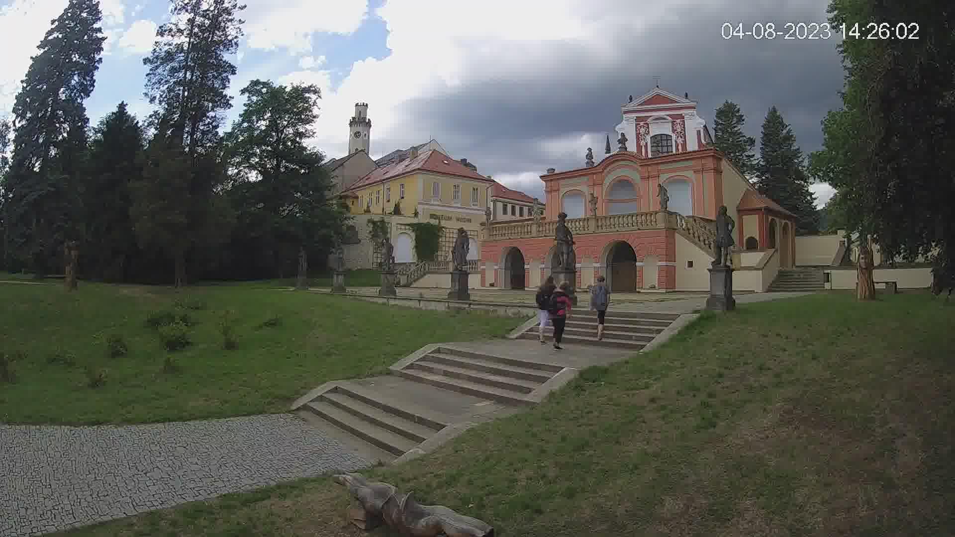 Webcam - Klášterec nad Ohří
